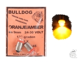 Birne 2er Set BA 9mm orange