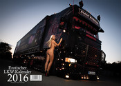 Kalender 2016 Scania LKWs Trucks & Girls<br />