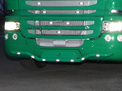 "Numberplate ""Italian Style"" passend für Scania Streamline"