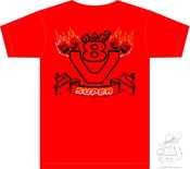 "T-Shirt  ""Flammen"" S- 5XL"