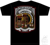 Andal Schubert Fan-Shirt powered bei Truck Junkie