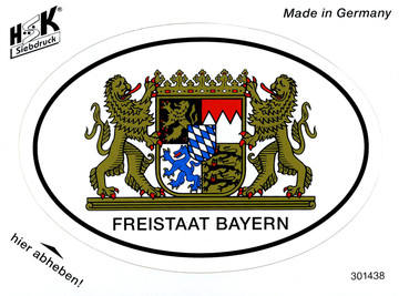 Freistaat Bayern oval