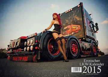 Kalender Scania  LKWs & Girls 2015