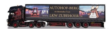 Herpa Modell Black Warrior Scania R