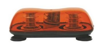 Rundumleuchte Mini Bar LED orange 12/24V Magnet