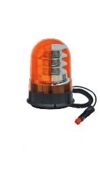 Rundumleuchte mit Magnetfu� LED orange 12/24V