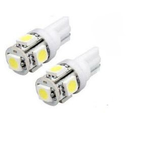LN-5-5050SMD T10 5 LED weiß, 2er Set