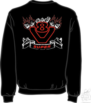 "Sweat Shirt ""Flammen"" S-5XL"