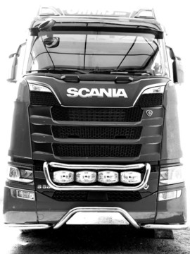 "Numberplate ""Strong"" passend für Scania ""New Generation"" tief"