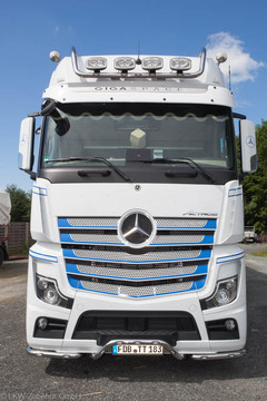 "Numberplate ""Strong"" passend für Actros MP4 mit LED"