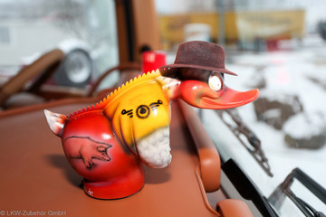 Turbo Duck- Rubberduck mit Airbrush