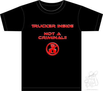 "T-Shirt ""Trucker Inside"" S- 5XL"