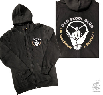 Kapuzenjacke Old Skool Club