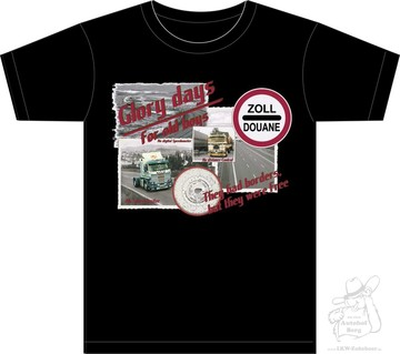 "T-Shirt  ""OLD Boys""  schwarz S- 5XL"