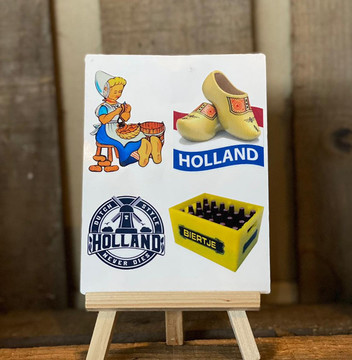 Scandi Aufkleber Stickerset Holland